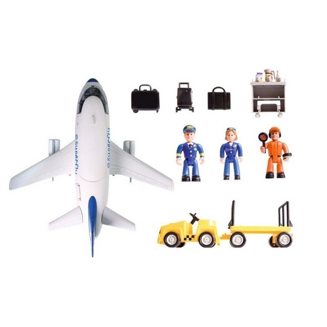 Smoby Superplay Plane Set