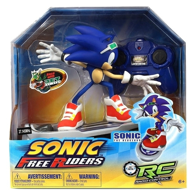 Sonic Free Rider Skateboard Remote Controlled