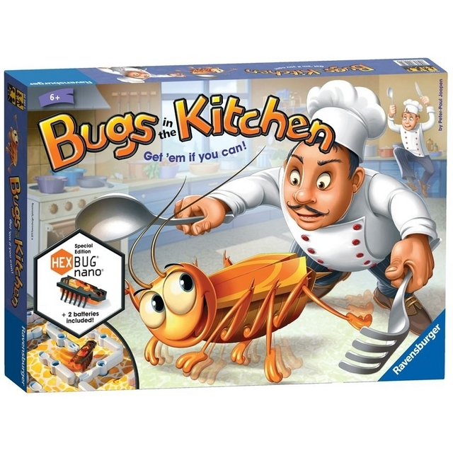 Настольная игра Bugs in the Kitchen Special Edition with HEXBUG Nano
