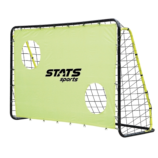 Stats Football Gate Metal football goal with targets
