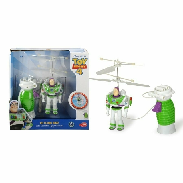 Toy Story 4 Rc Flying Buzz Cable Controlled Flying Character