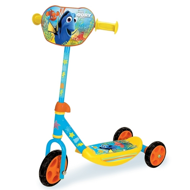 Smoby Disney Pixar Finding Dory 3 Wheel Scooter