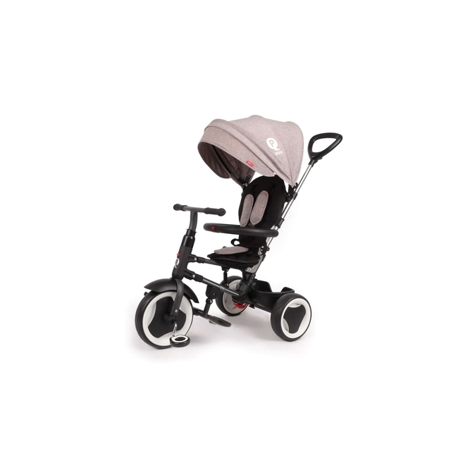 QPlay Tricycle Rito Deluxe Grey 3 in 1