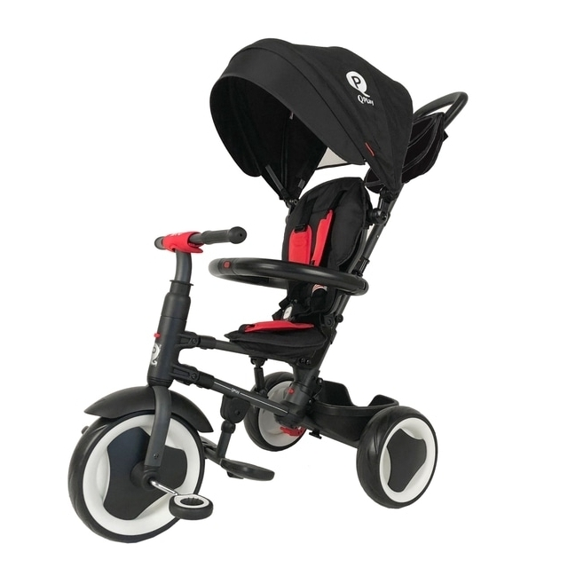 Q Play Rito Folding Trike Black/Red