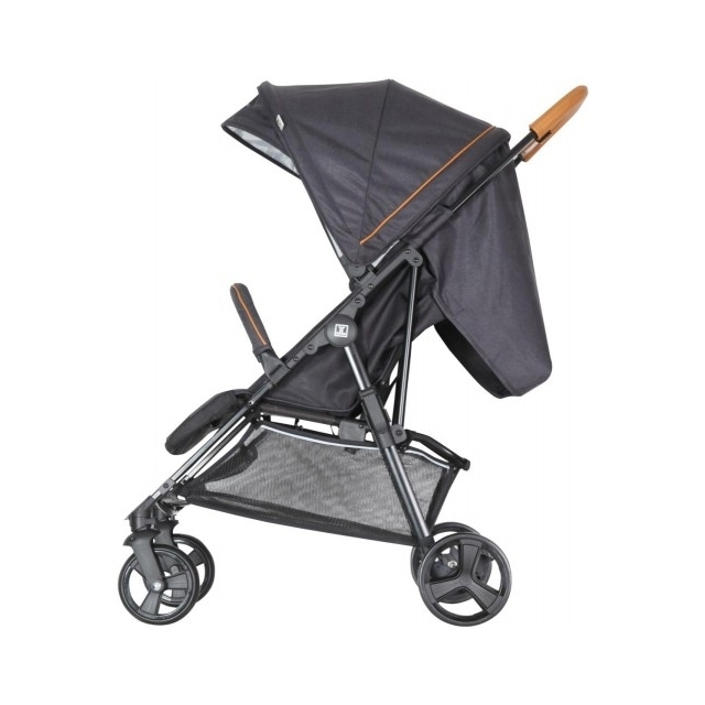 Jette Joop Stroller Jacob Fishbone Graphite with bar