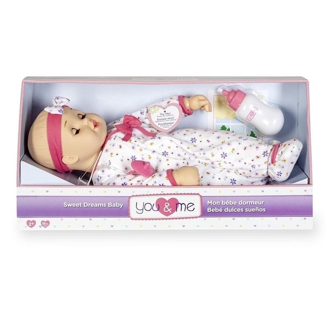 You & Me 18 inch Sweet Dreams Baby Doll red