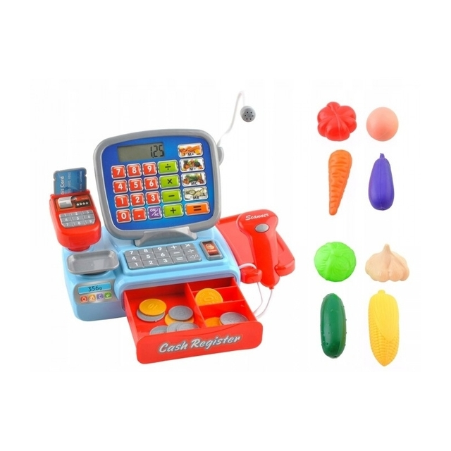 Toy store cash register for children with accessories Cash Register