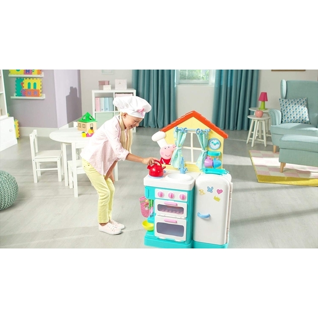 Peppa's Little Kitchen Deluxe Feature Role-Play