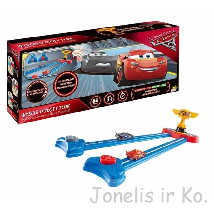 Disney Pixar Cars 3 Piston Cup Race Game