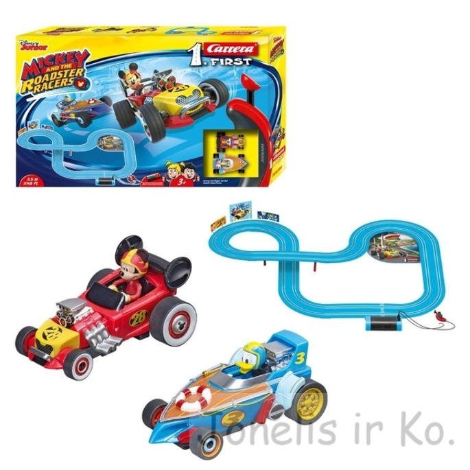 Carrera First Disney Mickey and The Roadster Racers