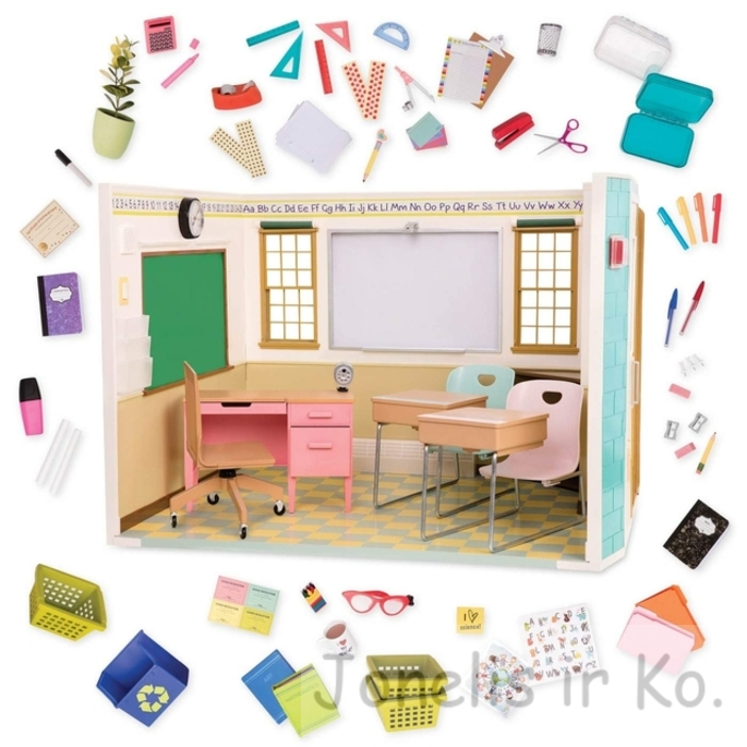 Our Generation Awesome Academy School Room