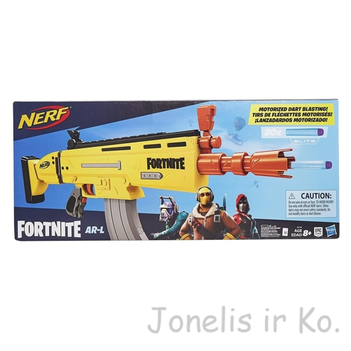 NERF Fortnite AR-L Elite Motorized Blaster