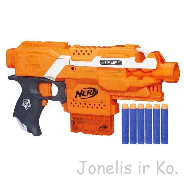 "Bинтовкa ""Nerf STRYFE elite""  orange (be pakuotės)"